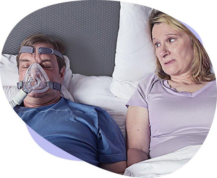 CPAP-Maske bei OSA - Therapie mit Nebenwirkungen | Inspire